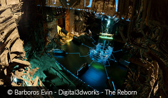 Barboros Evin Digital3dworks The Reborn