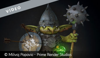 The Goblin Video by Milivoj Popovic